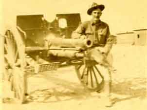 Elmer Titus with canon