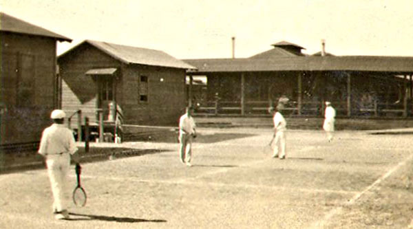 Tennis Court - Camp Cody - Deming, New Mexico