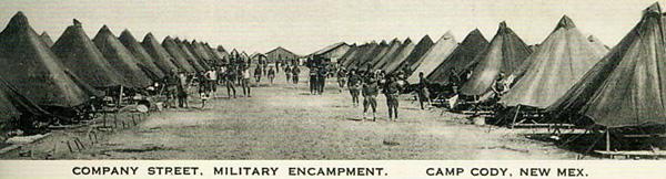 Company Street Military Encampment