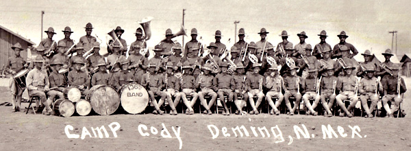 136th Camp Cody Band