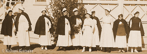 Red Cross Nurses At Camp Cody, Deming, New Mexico - 1918